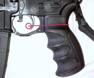 ATI Scorpion Recoil Pistol Grip